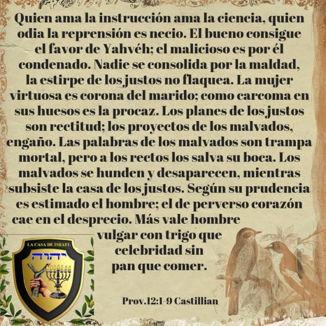 Prov.12_1-9 Casa de Yisrael