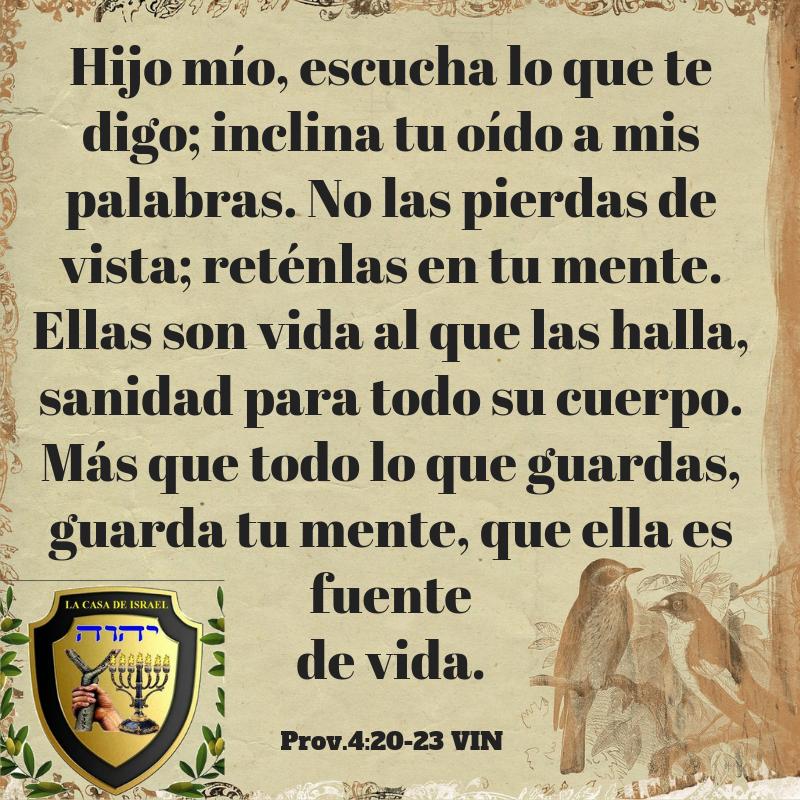 Prov.4_20-23 Casa de Yisrael