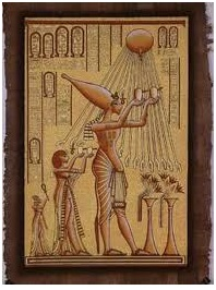 Egipto los rayos del sol y Semiramis