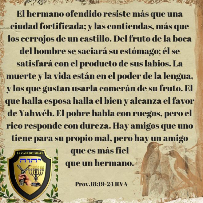 Prov.18_19-24 Casa de Yisrael