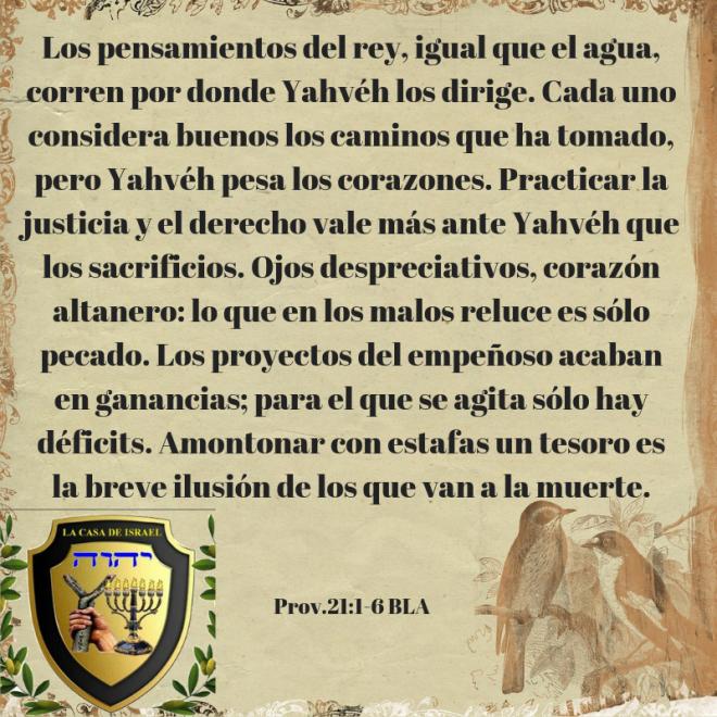 Prov.21_1-6 Casa de Yisrael