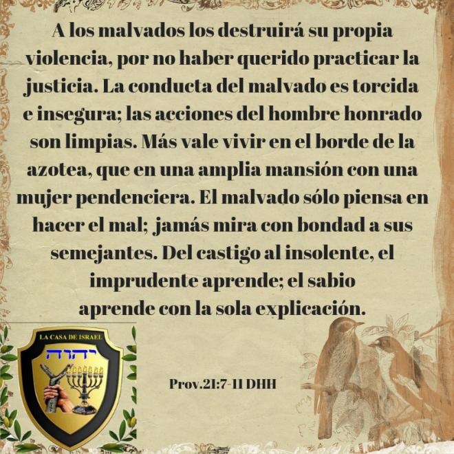 Prov.21_7-11 Casa de Yisrael