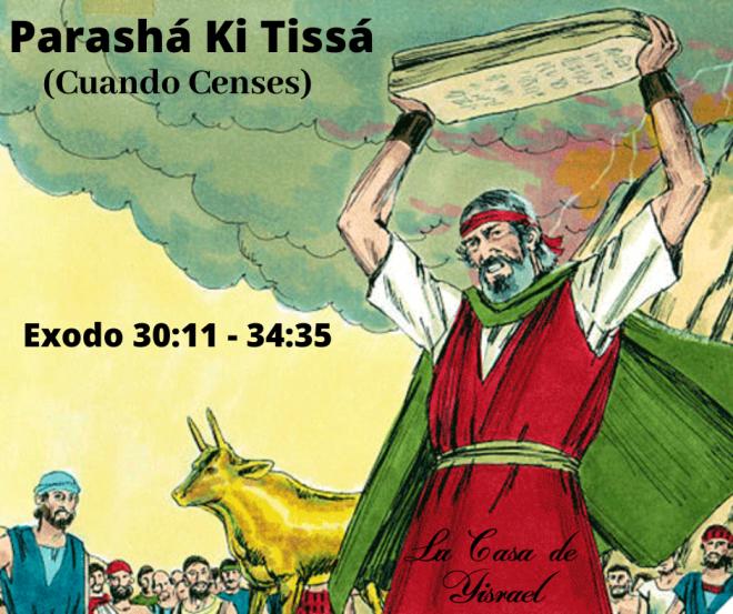 Parashá Ki Tissá