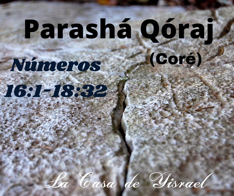 Parashá Qóraj